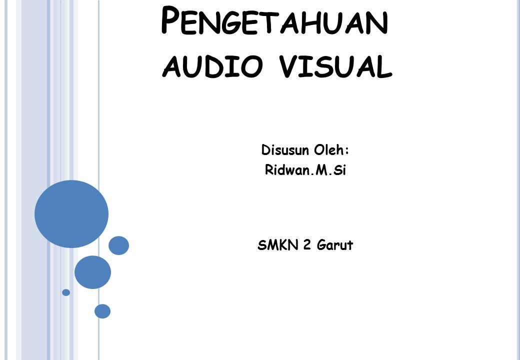 Pengetahuan audio visual