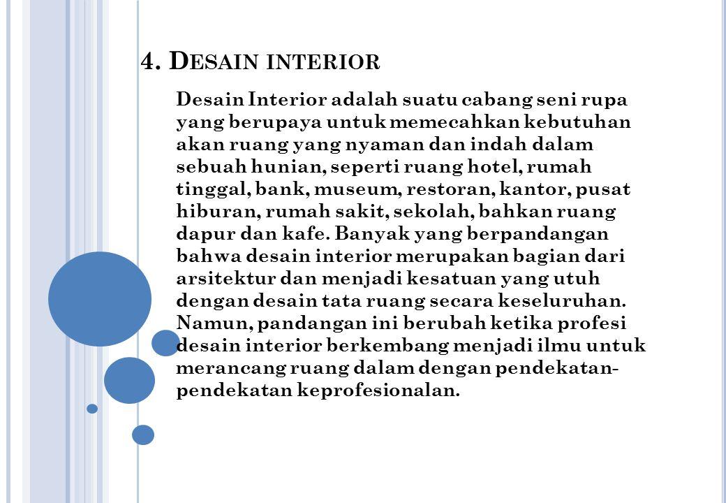 4. Desain interior