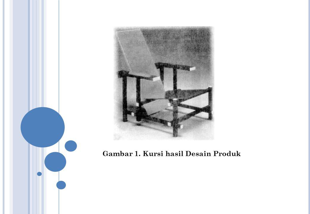 Gambar 1. Kursi hasil Desain Produk