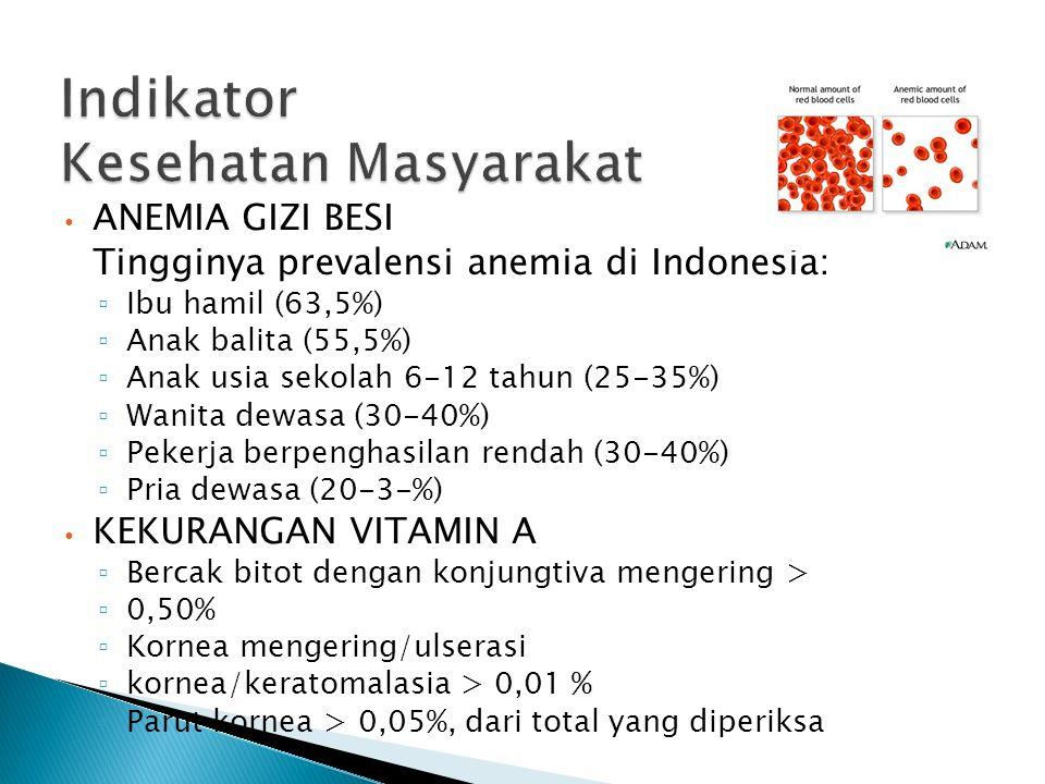 Indikator Kesehatan Masyarakat