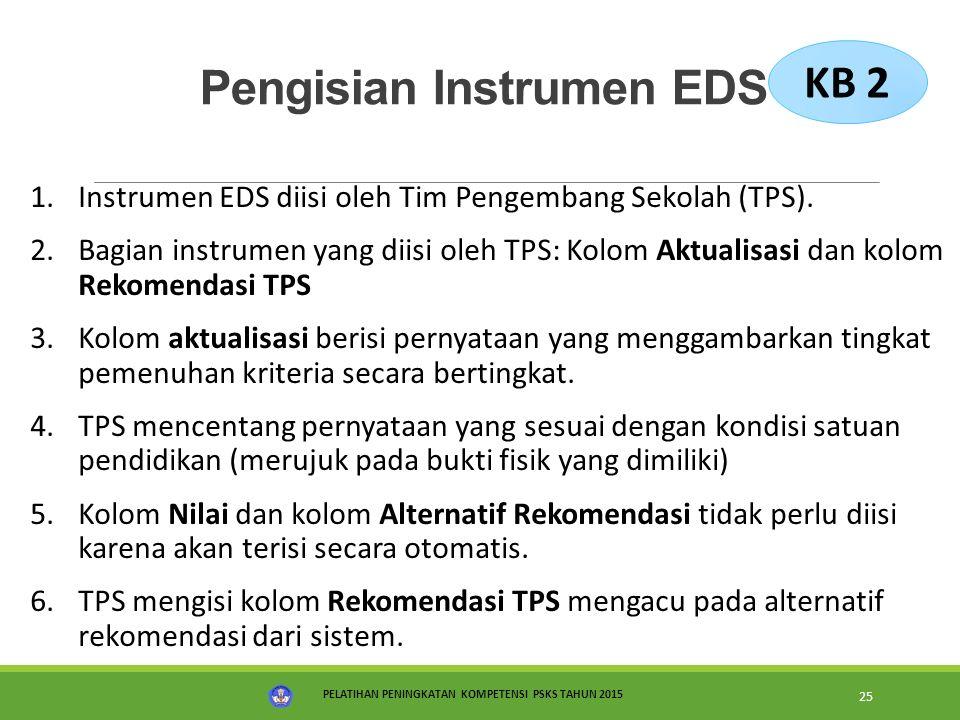 Pengisian Instrumen EDS