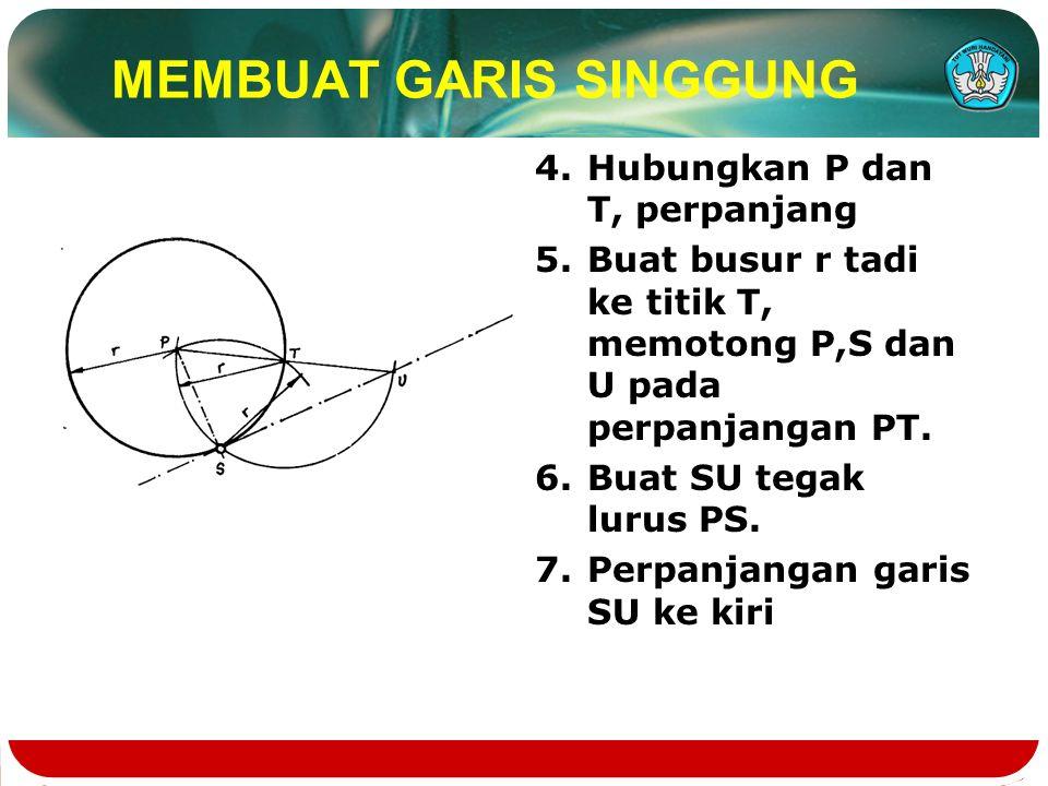 MEMBUAT GARIS SINGGUNG