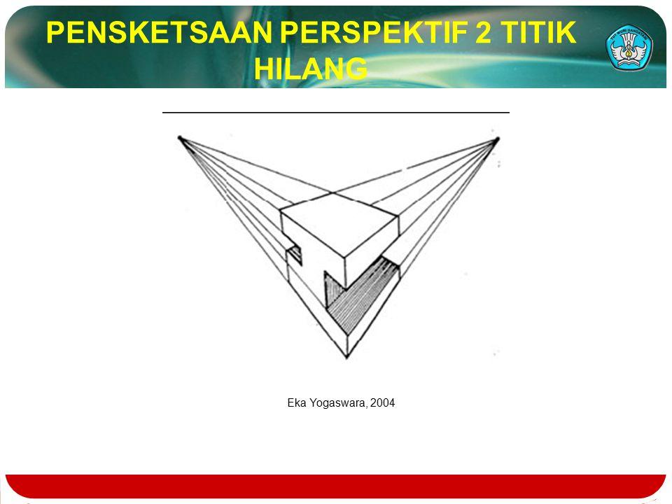 PENSKETSAAN PERSPEKTIF 2 TITIK HILANG