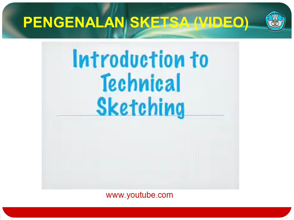 PENGENALAN SKETSA (VIDEO)