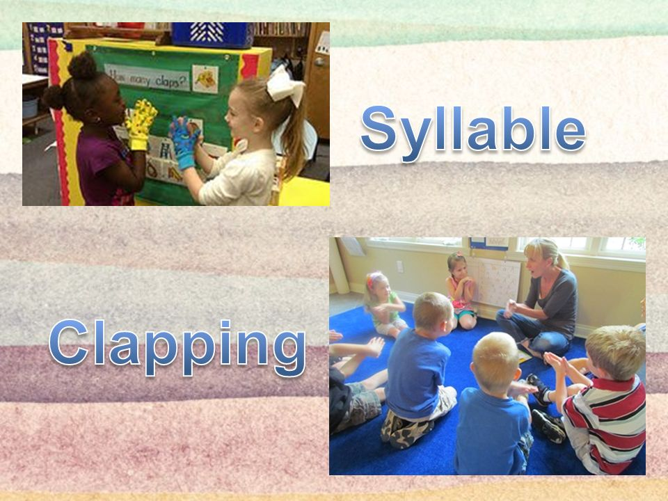 Syllable Clapping