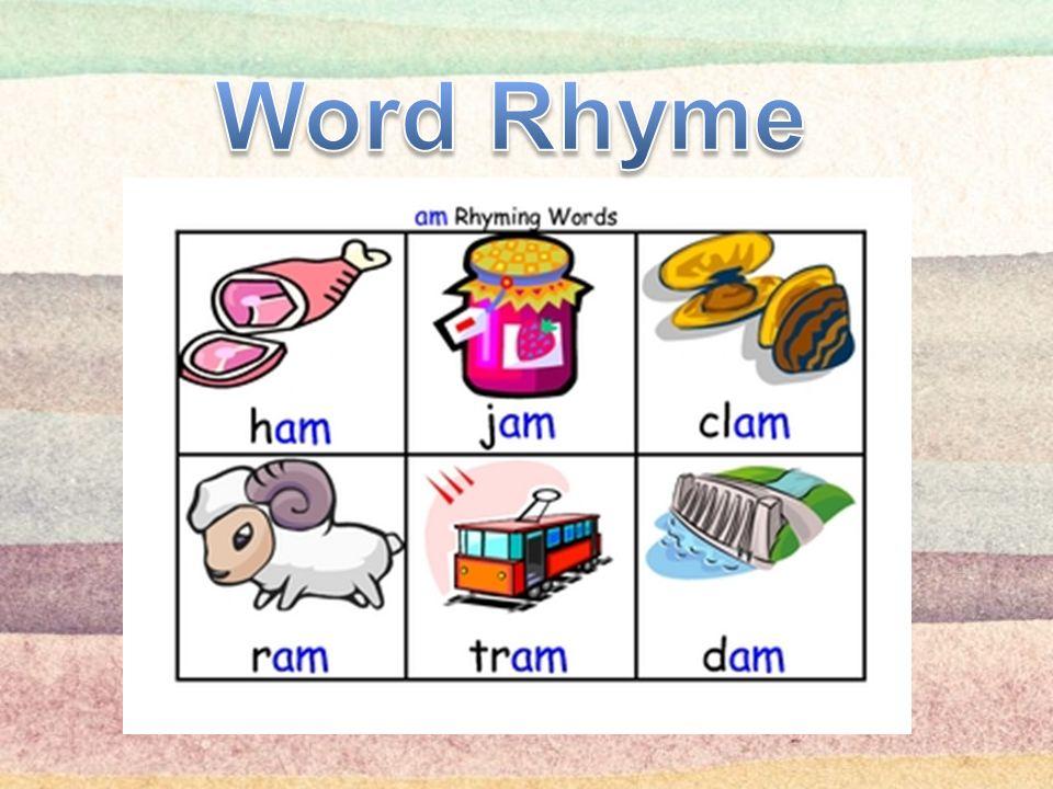 Word Rhyme