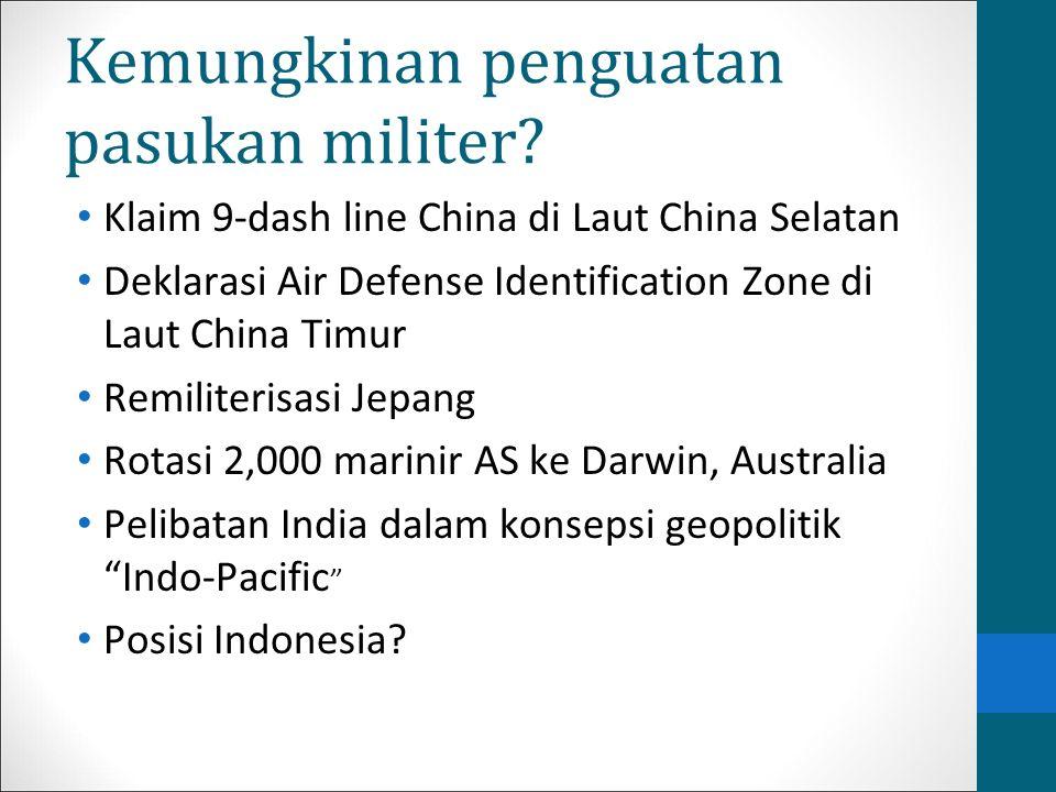 Kemungkinan penguatan pasukan militer