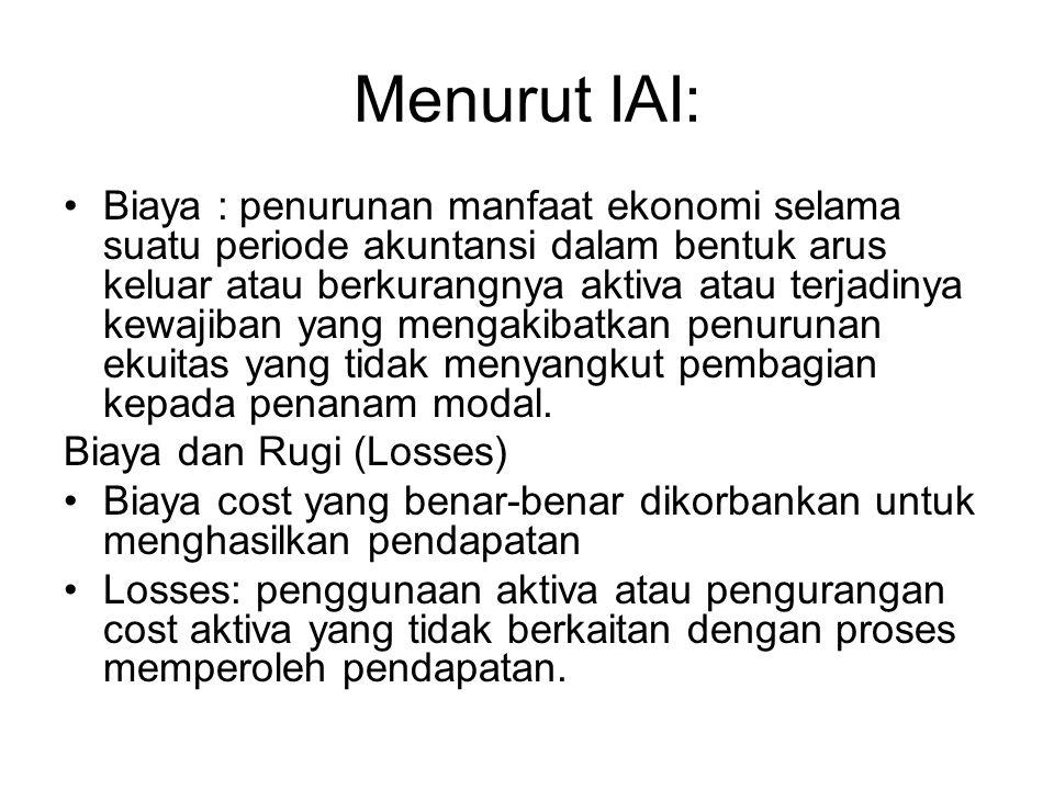 Menurut IAI: