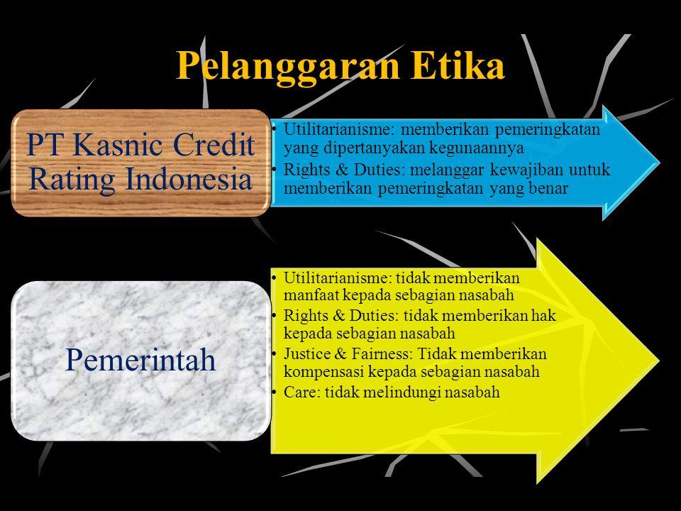PT Kasnic Credit Rating Indonesia