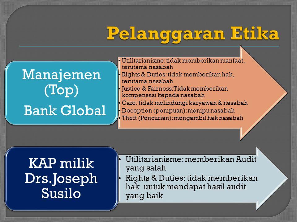 KAP milik Drs.Joseph Susilo