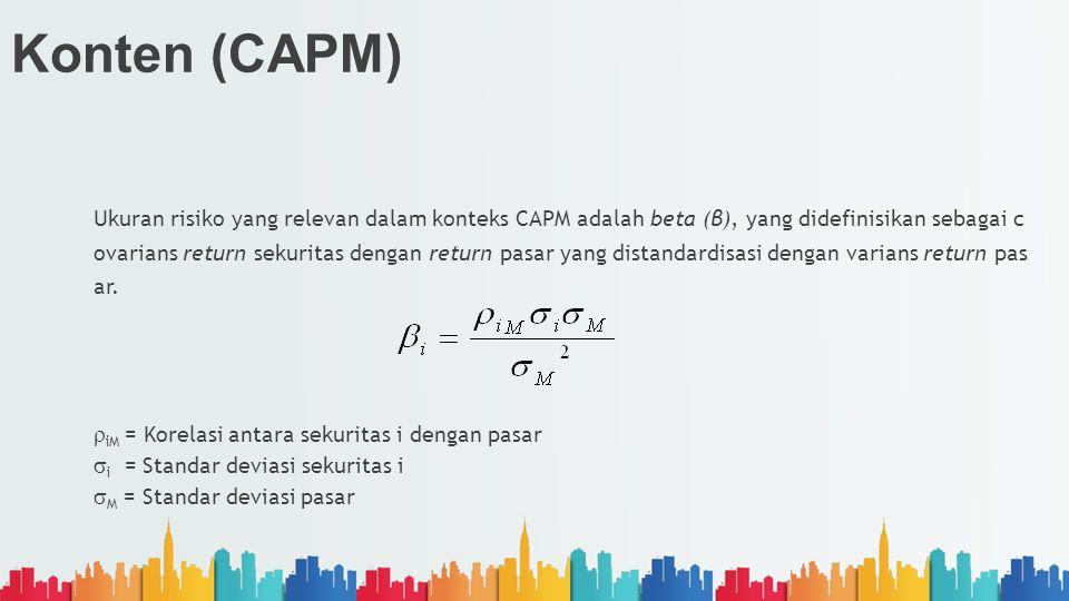 Konten (CAPM)