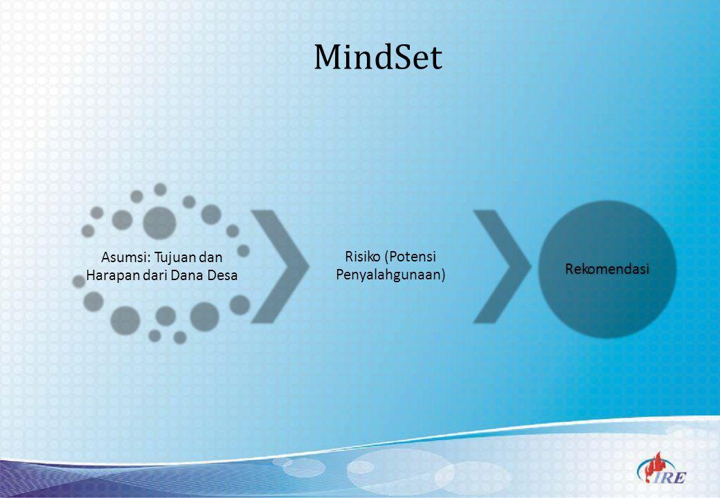 MindSet Asumsi: Tujuan dan Harapan dari Dana Desa