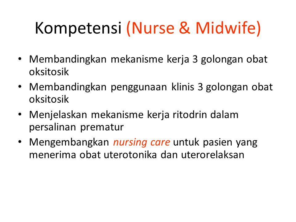 Kompetensi (Nurse & Midwife)