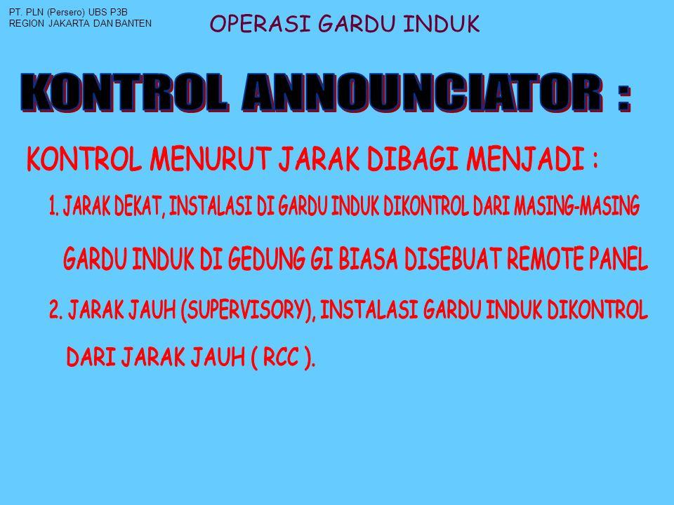 KONTROL MENURUT JARAK DIBAGI MENJADI :