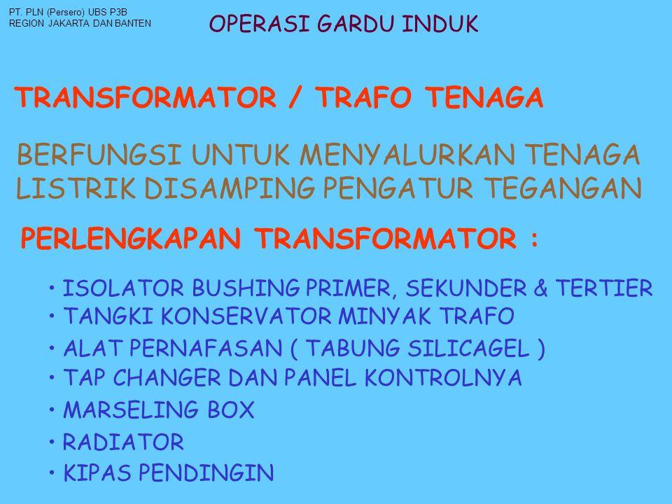 TRANSFORMATOR / TRAFO TENAGA