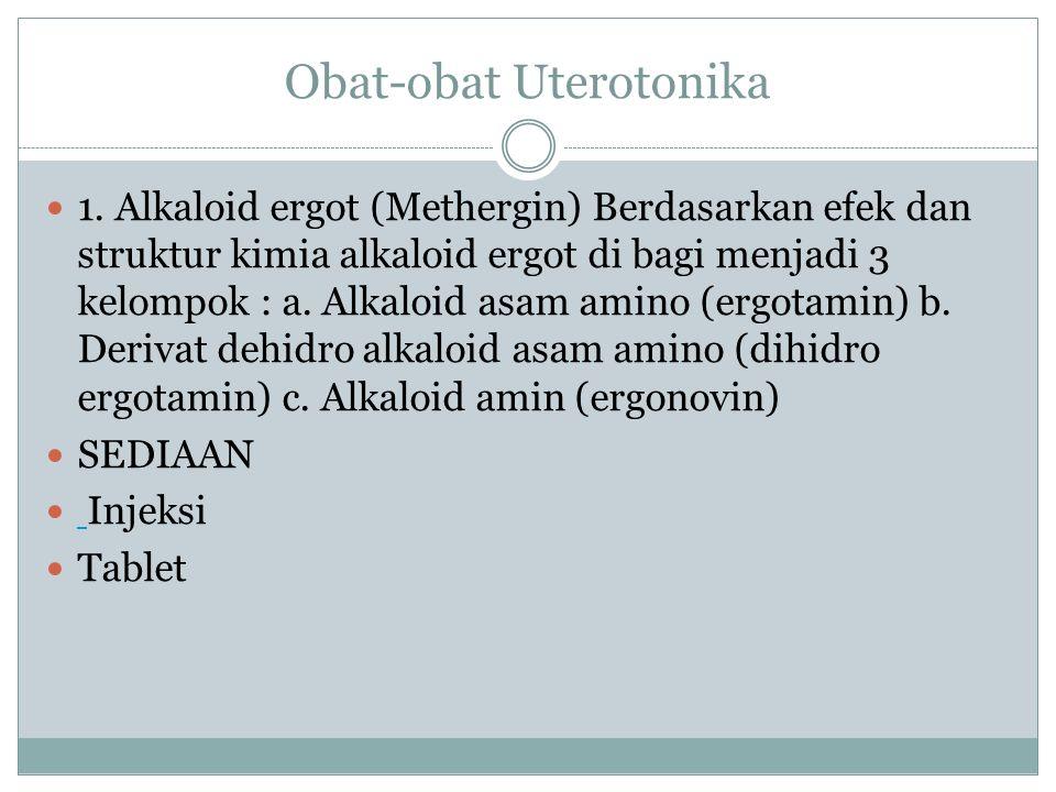 Obat-obat Uterotonika