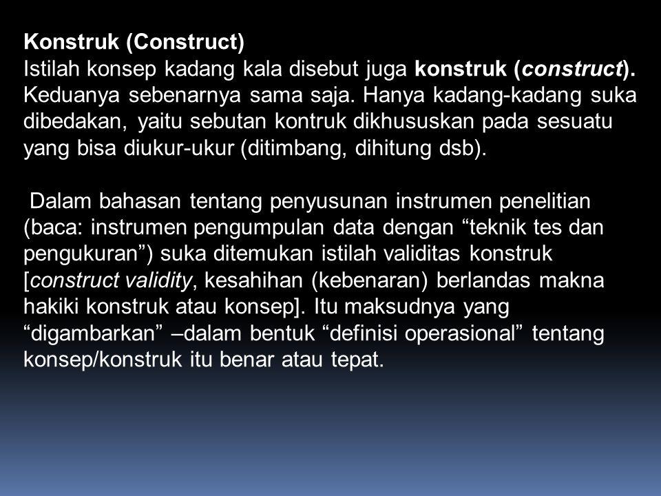 Konstruk (Construct)