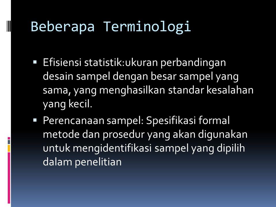 Beberapa Terminologi