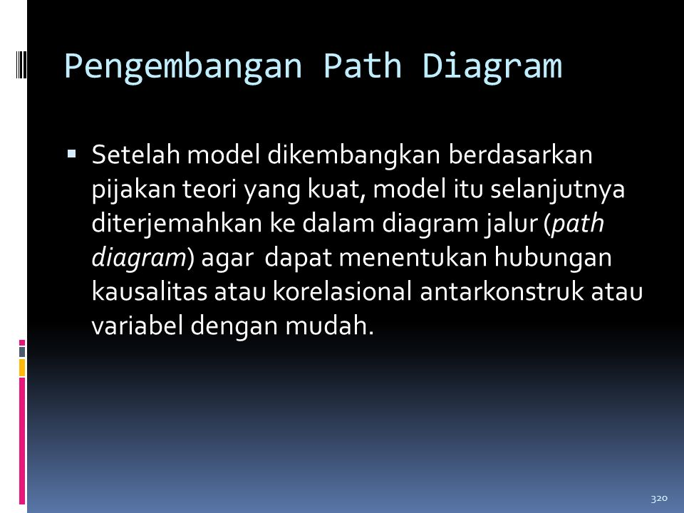Pengembangan Path Diagram
