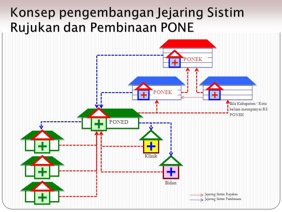 Konsep pengembangan Jejaring Sistim Rujukan dan Pembinaan PONE