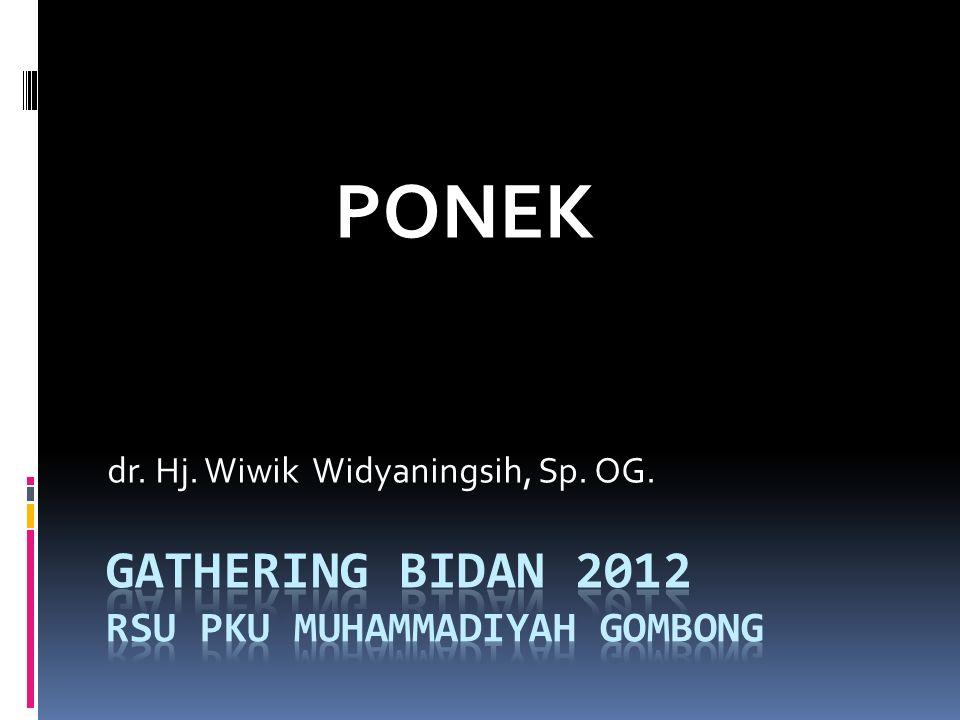 GATHERING BIDAN 2012 RSU PKU Muhammadiyah Gombong
