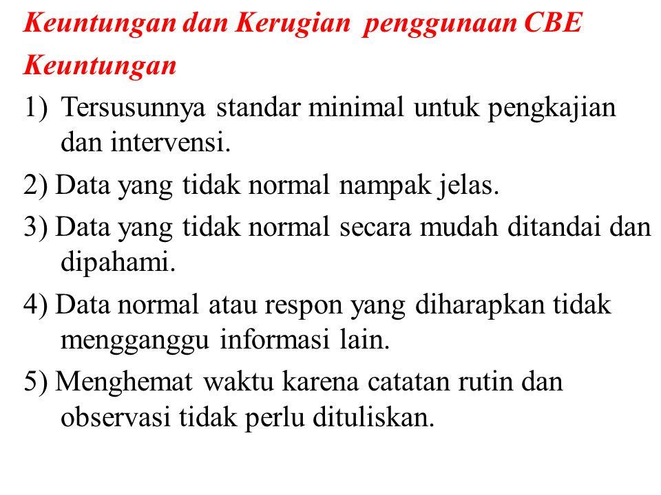Keuntungan dan Kerugian penggunaan CBE