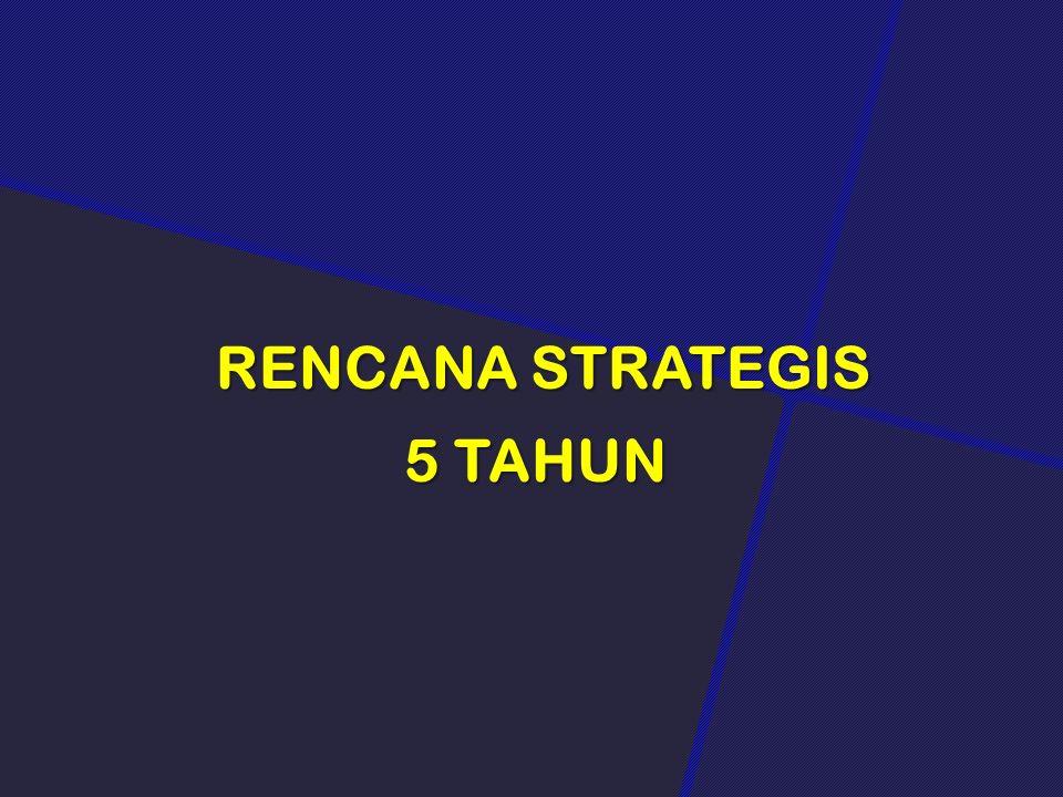 RENCANA STRATEGIS 5 TAHUN