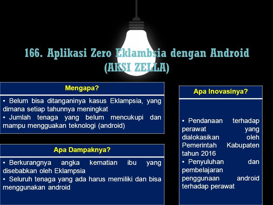 166. Aplikasi Zero Eklambsia dengan Android (AKSI ZELLA)