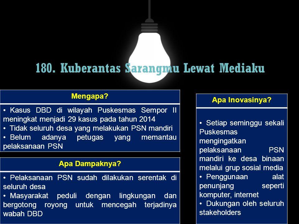180. Kuberantas Sarangmu Lewat Mediaku