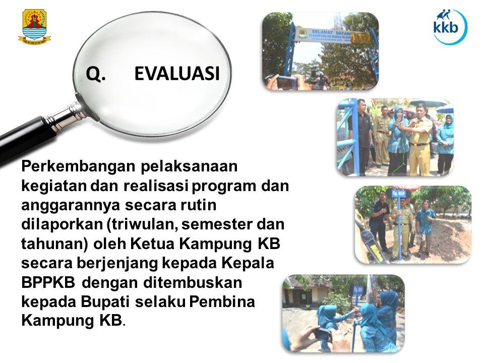 Q. EVALUASI