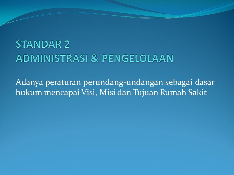 STANDAR 2 ADMINISTRASI & PENGELOLAAN