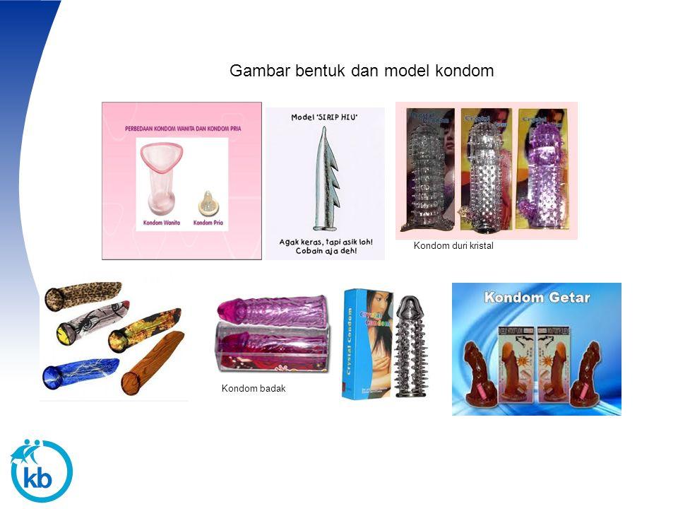 Gambar bentuk dan model kondom