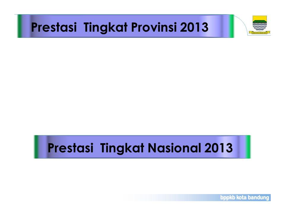 Prestasi Tingkat Provinsi 2013