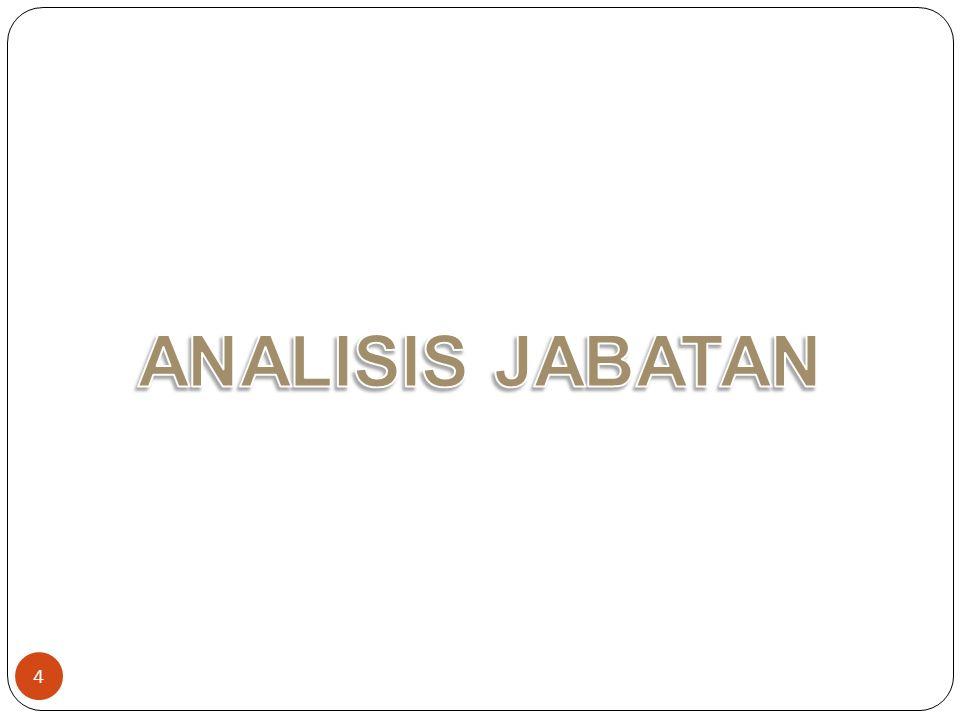 ANALISIS JABATAN
