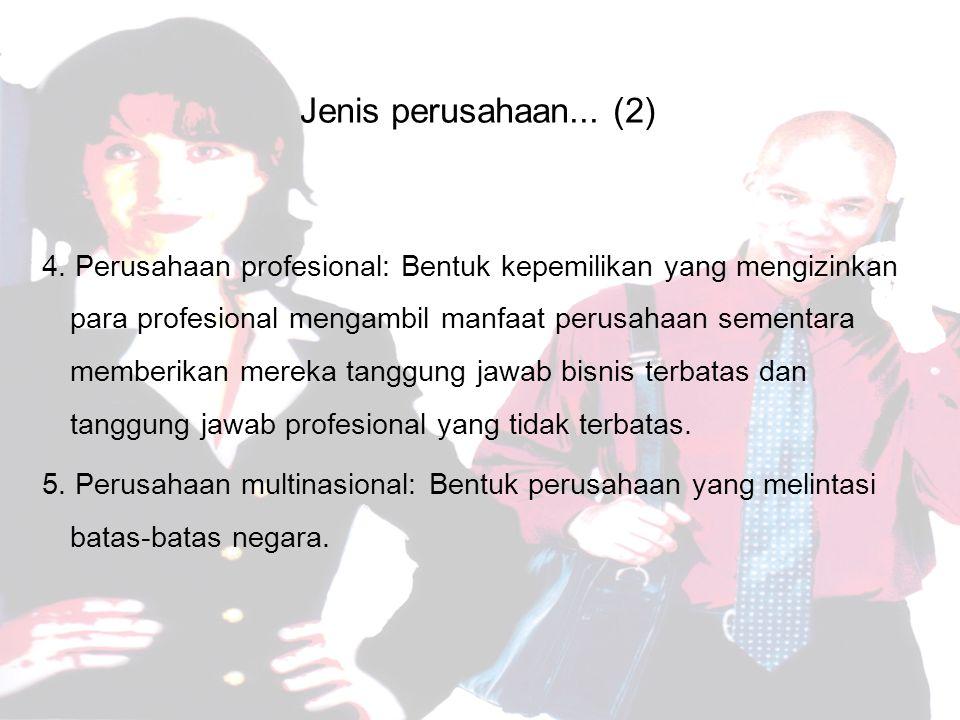 Jenis perusahaan... (2)