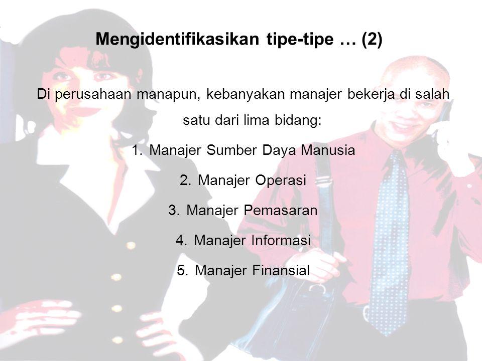 Mengidentifikasikan tipe-tipe … (2)