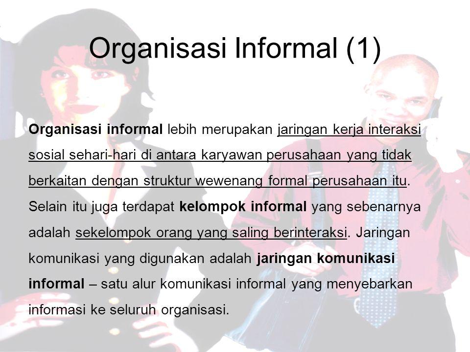 Organisasi Informal (1)
