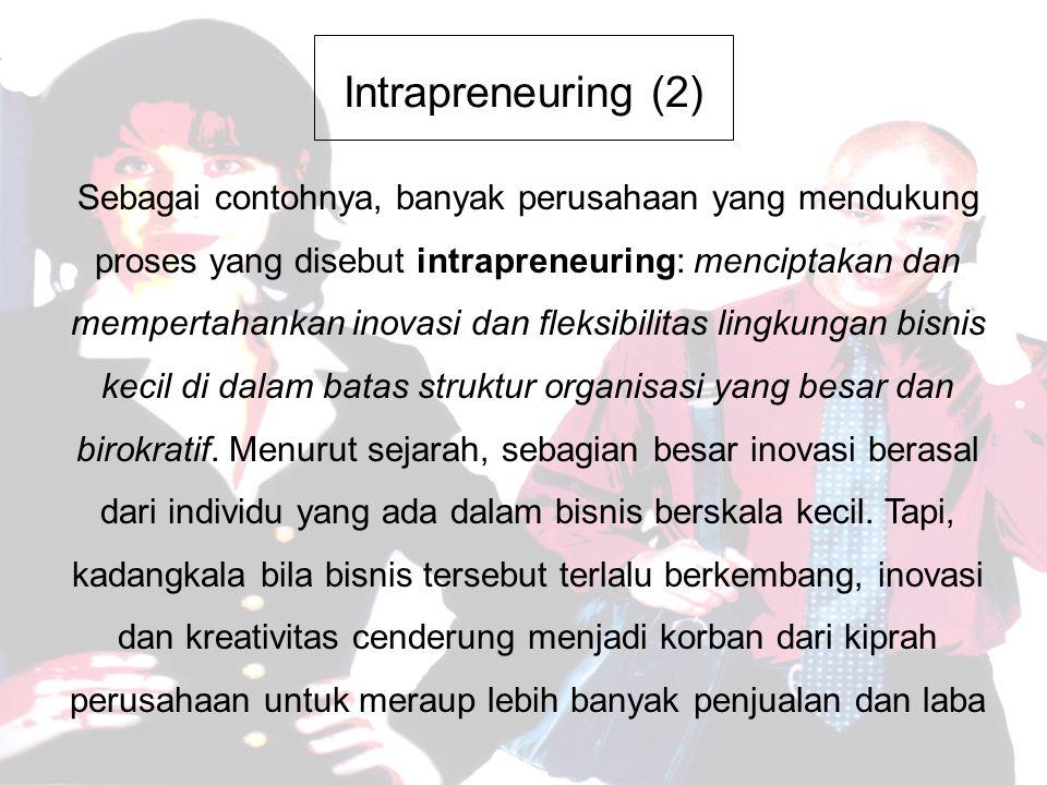 Intrapreneuring (2)