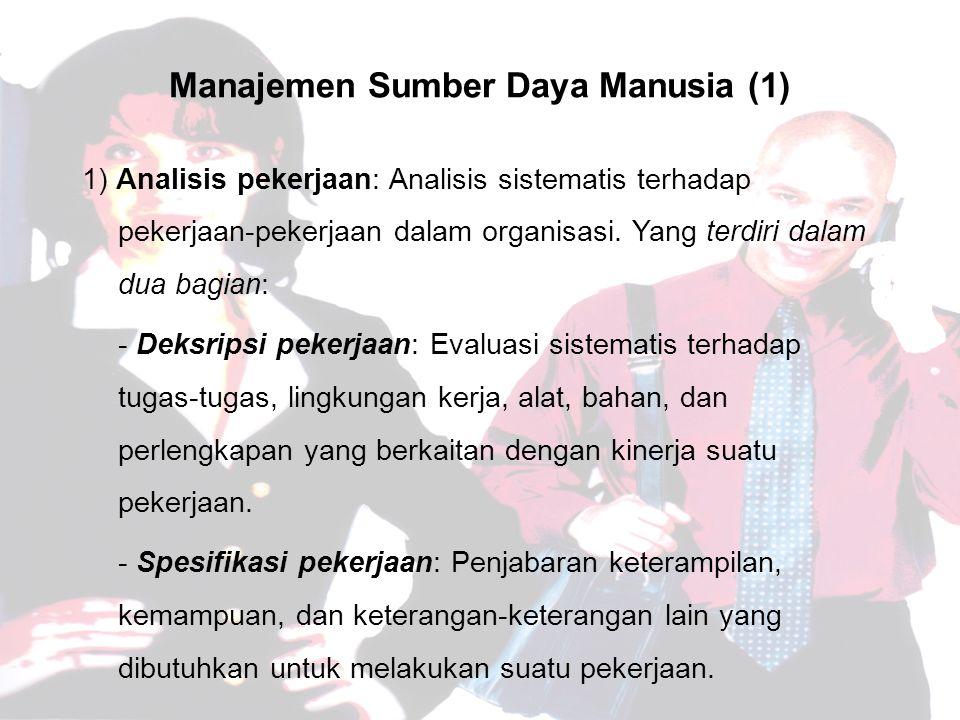 Manajemen Sumber Daya Manusia (1)