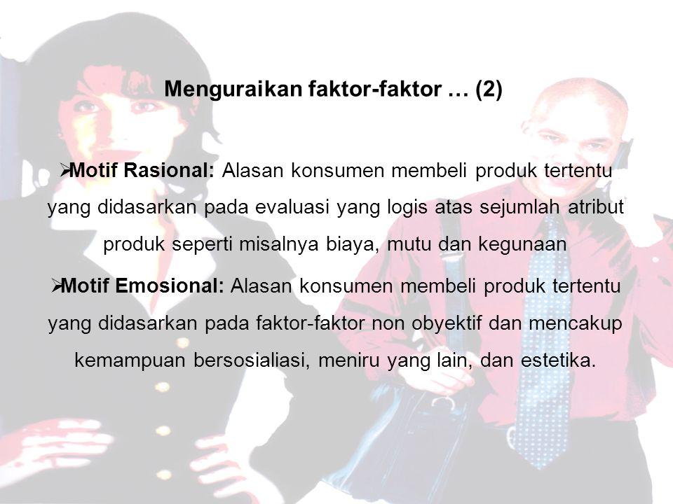 Menguraikan faktor-faktor … (2)