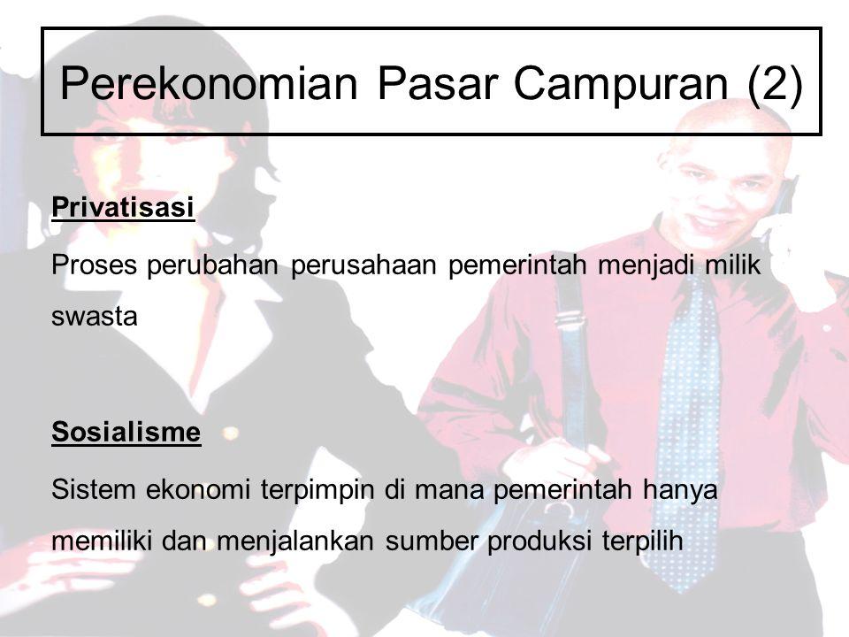 Perekonomian Pasar Campuran (2)