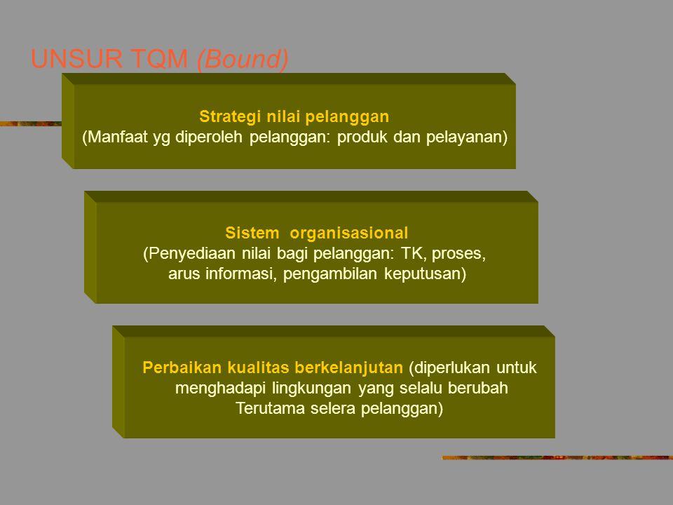 Strategi nilai pelanggan Sistem organisasional