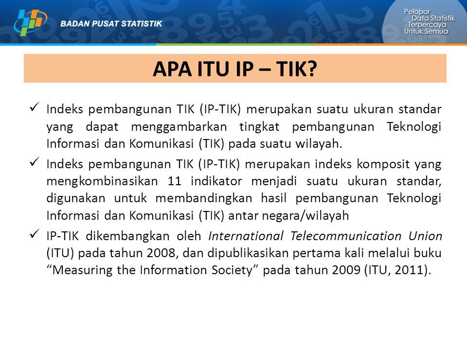 APA ITU IP – TIK