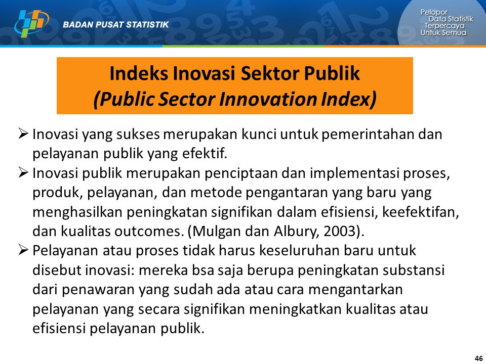 Indeks Inovasi Sektor Publik (Public Sector Innovation Index)