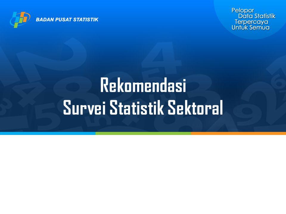 Survei Statistik Sektoral