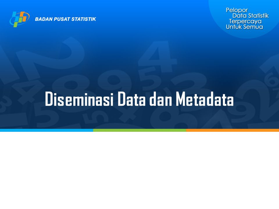 Diseminasi Data dan Metadata