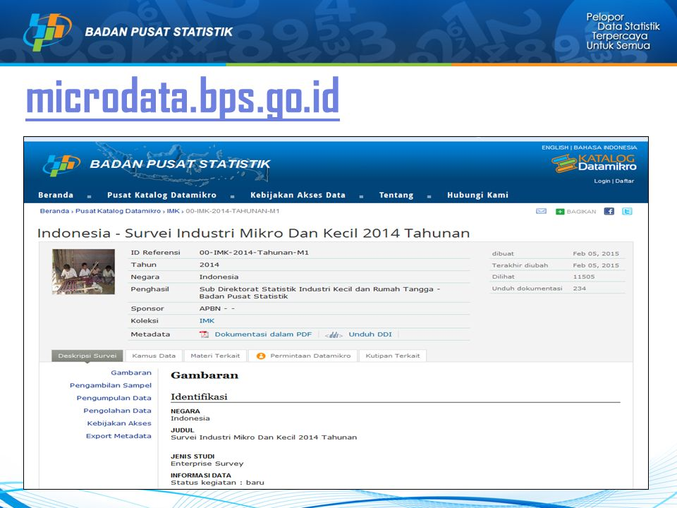 microdata.bps.go.id 33