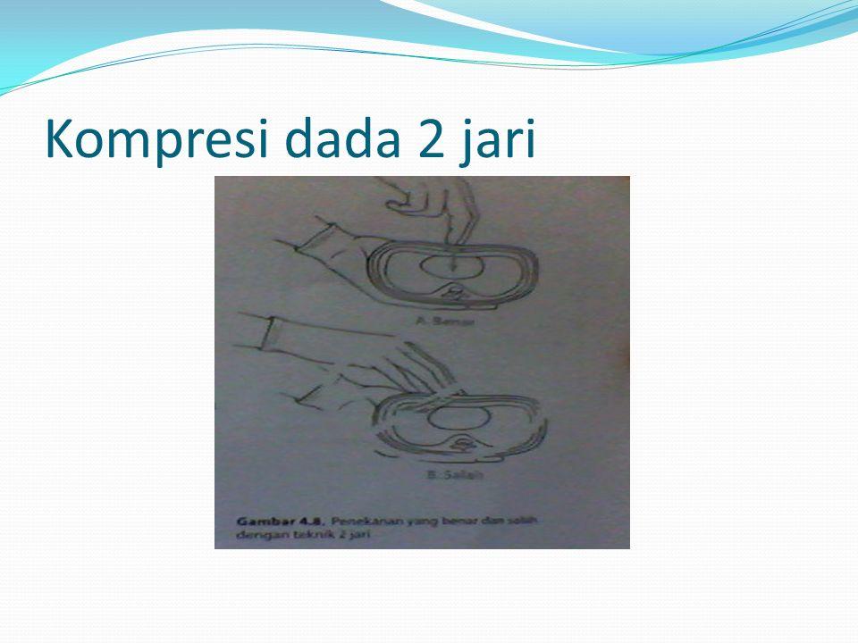 Kompresi dada 2 jari