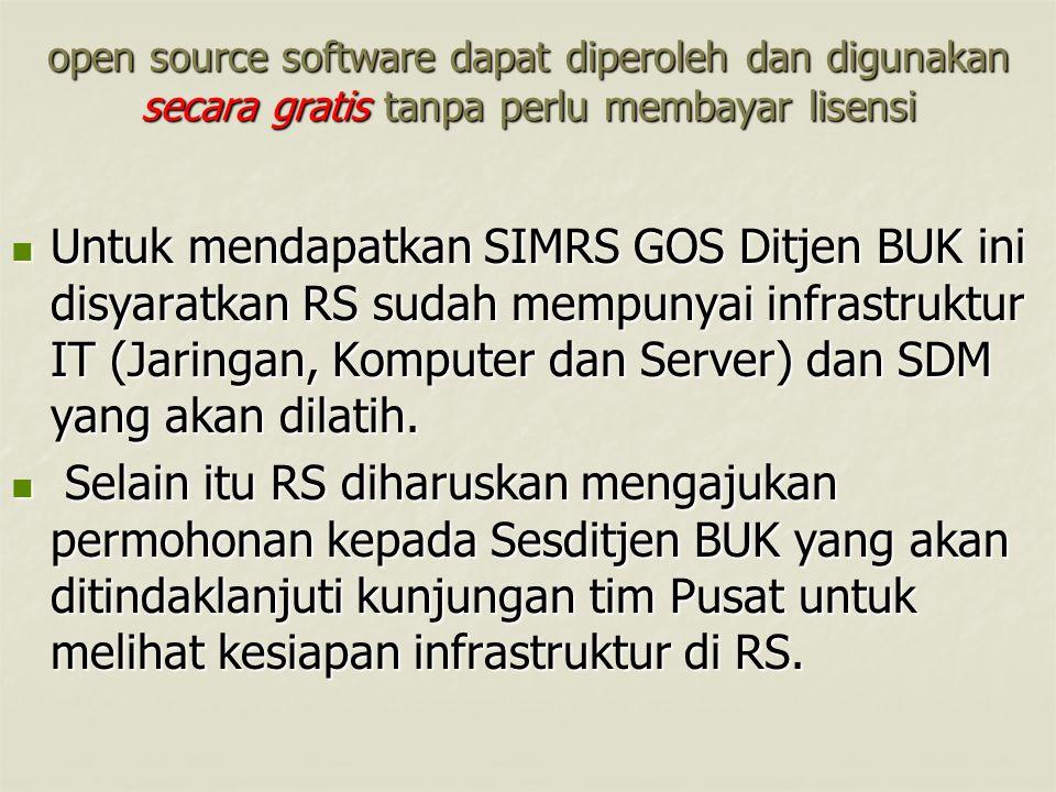 open source software dapat diperoleh dan digunakan secara gratis tanpa perlu membayar lisensi