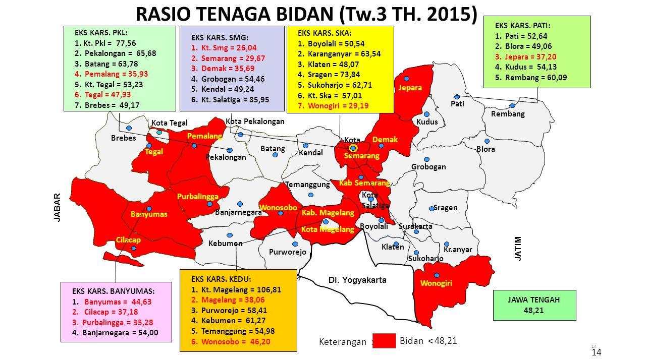RASIO TENAGA BIDAN (Tw.3 TH. 2015)